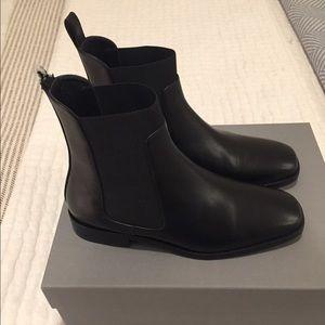 Everlane Square Toe Chelsea Boots - Brand New
